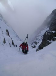 Snowdrops dalla cornicetta sonnitale, ultimi metri