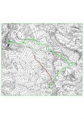 Itinerario su CTR Piemonte