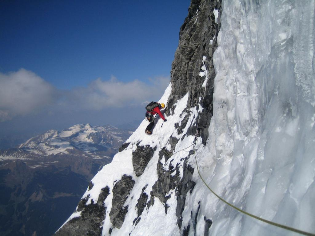 Eiger Nordwand - Via Heckmair 2011-04-20