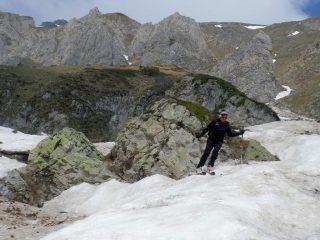 sciando sulla valanga