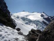Discesa nel ghiacciaio Trient