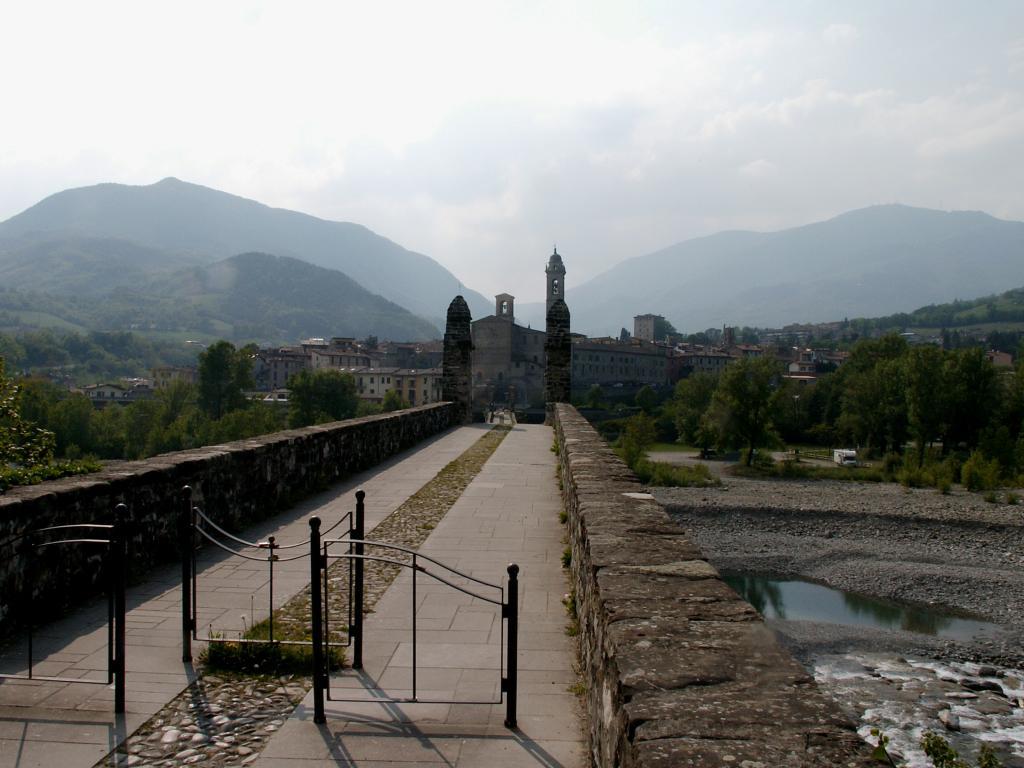 Via degli Abati - Via Francigena montana da Pontremolia Bobbio 2011-04-24