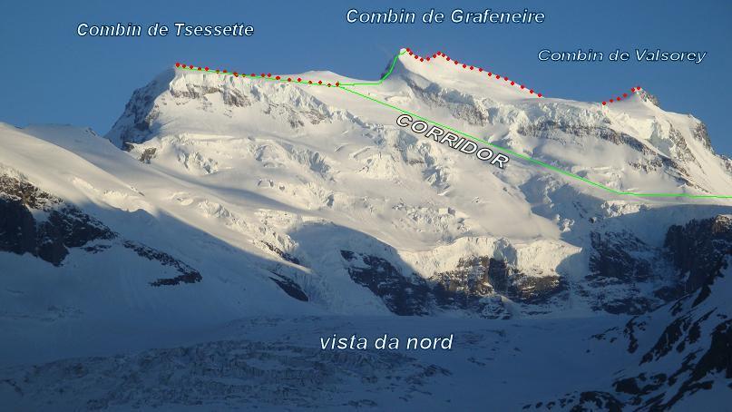 Grand Combin Parete Sud e traversata delle 3 cime 2011-04-26