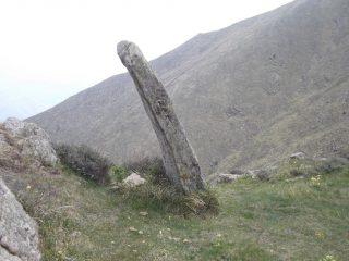 Il menhir al Sotto di san Lorenzo