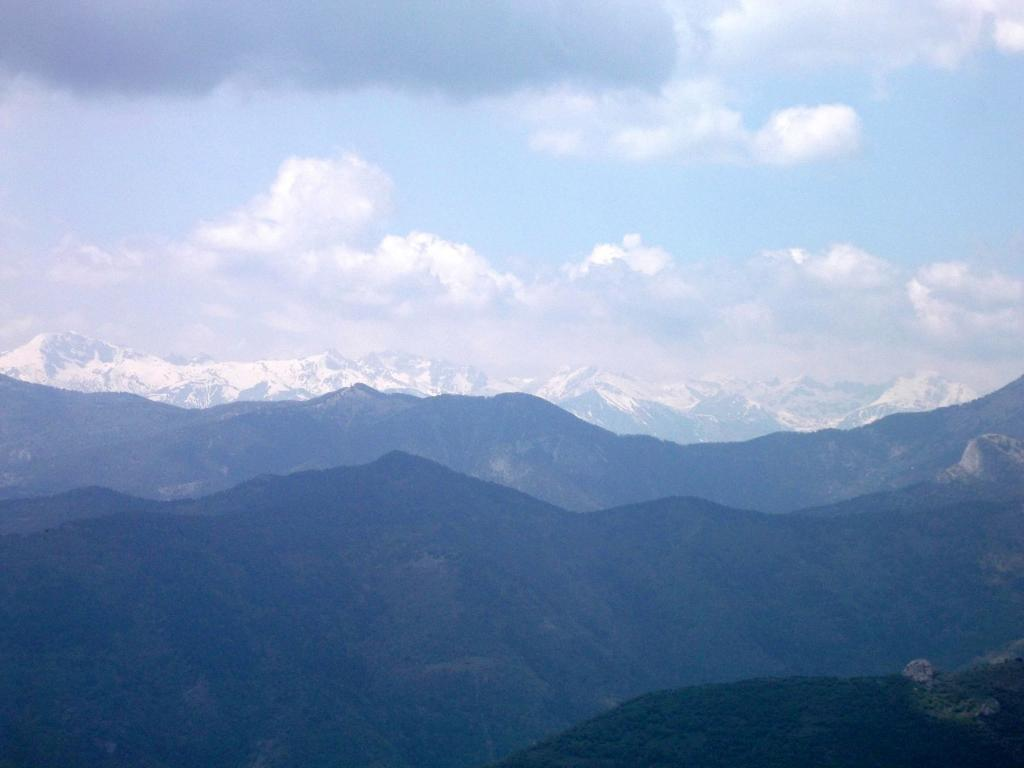 Panorama sulle Alpi Francesi