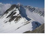 La Bonale' e la Gran Rochere dall' Aiguille d'Artanavaz