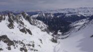 Combe des Ecandies/ vue sur Champex-Lac