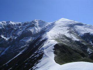 Dal Caire Porcera, vista verso Il M.Pianard, la Rocca d'Orel il M.Bussaia