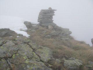 Torretta dei Becchi di Bertolino con nebbia