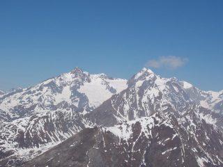 Trelatete ed Aiguille des Glaciers