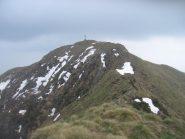 La vetta del Turlo vista dalla cresta N