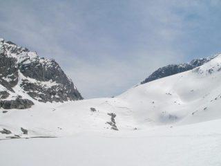 parte bassa del ghiacciaio