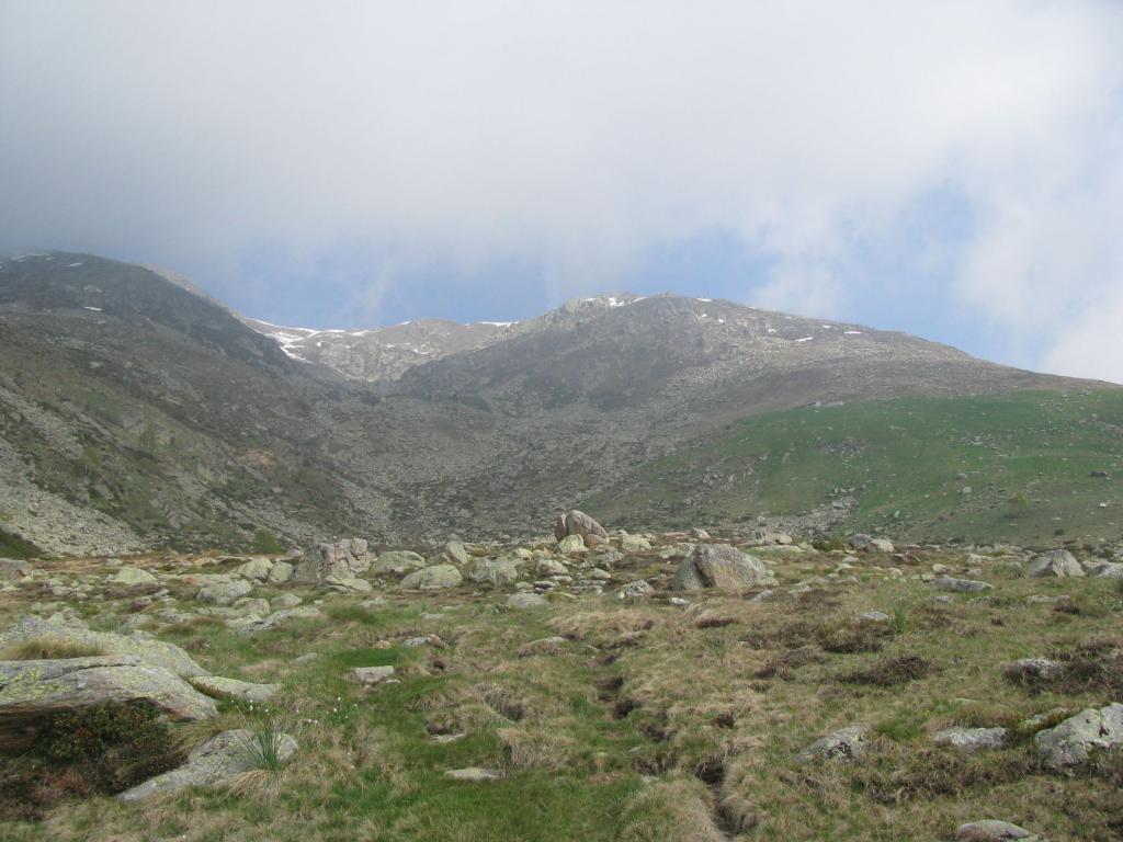 Verso l'Alpe Valneira