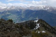 La cresta che scende verso il Mt Broillat