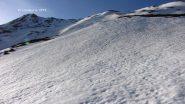 salendo lungo i pendii del versante Ovest del Pic Lombard (8-5-2011)