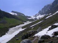 La primavera avanza nel vallone che porta al Balur