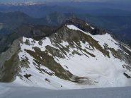 Dalla cima, vista verso la Serra Garb