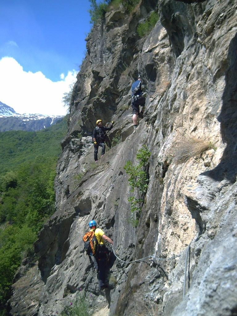 Gorge della Dora Giaglione (Ferrata) CHIUSA PER FRANA 2011-05-15