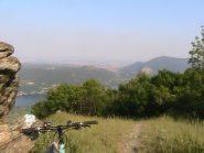Panorama:da dx a sx.Monte S.Giorgio,Moncuni e Lago piccolo