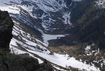 Il Vallon d'En Haut, con il Lago di Lenteney