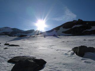 quota 2800 come per miraggio: la neve