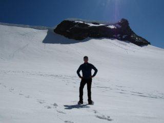 Io, la cima e il punto dove mi sono fermato