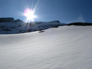 i nevai verso la cima