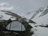 bivacco a 3100 m