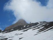 Pic d'Asti fra le nuvole