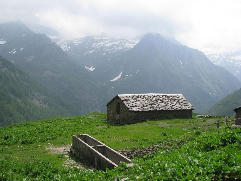 Pausa all'Alpe Vandilliana