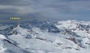 Dome Blanc du Mulinet dal Colle Pariotes