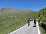 Scollinamento e risalita al colle da Pian dell'Alpe