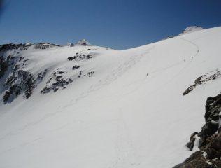ghiacciaio del carro