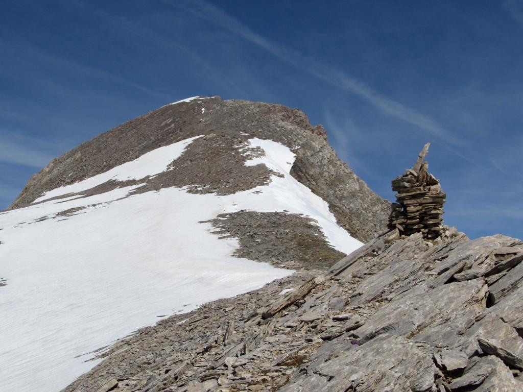 La cima dalla quota 3030 m