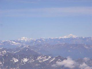 Grande Casse e Monte Bianco