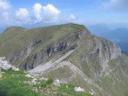 Il Monte Tofino visto dal Monte Pichea