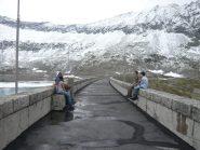 Sulla diga di Camposecco