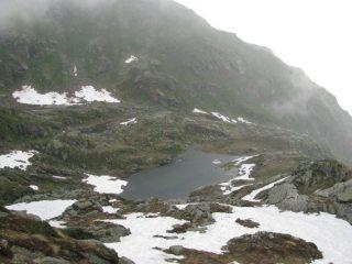 Schiarita con vista sui laghi della Furce