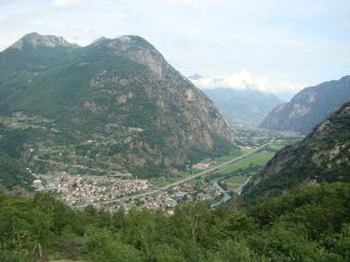 panorama dal Truc Chaveran