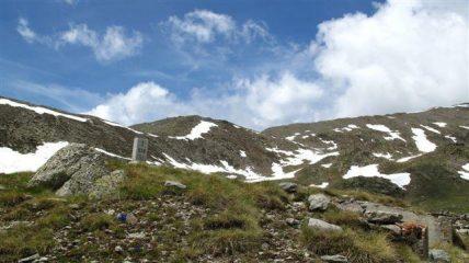 Verso la cima di Collalunga