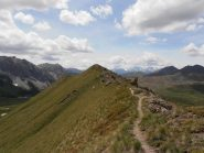 11 - sentiero in cresta dal Monte Begino alla Cima Fournier
