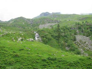 La Rocca Maunero vista dall'Alpe Bianetto