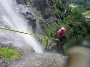 Renato sulla C60 del cascatone