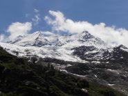 03 - si inizia a salire ed i ghiacciai appaiono maestosi, Roccia Viva