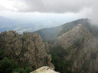 Dal Monte Tre Denti verso cappella