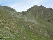 Colle Marmottin e a dx Mont de la Tsa