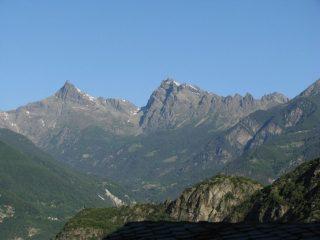 Da Omens sguardo sul Monte Avic