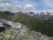 A sx Mont Flassin, Grande Rochere e Testa Cordella