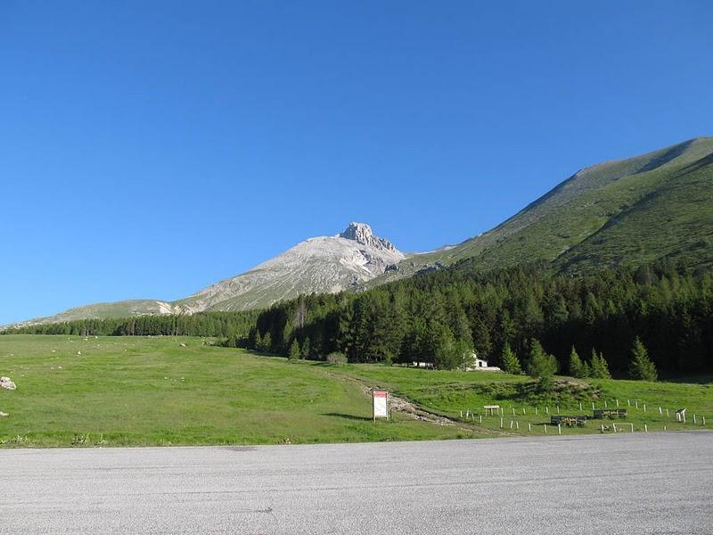Monte Camicia dal parcheggio