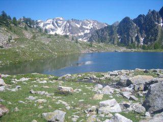il lago dell'Aver